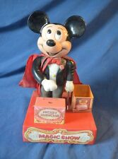 Vintage Mickey Mouse Magician Magic Show Toy