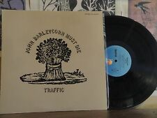TRAFFIC, JOHN BARLEYCORN MUST DIE - JAPANESE LP ILS-40205