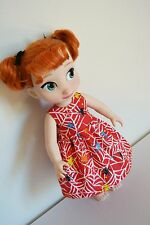 "Handmade Doll Clothes Dress Disney Animators 16"" Elsa Anna Toddler Halloween 4"