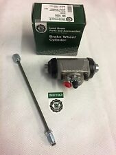 Bearmach Land Rover Series SWB 88 2,2a & 3 LHS Front Wheel Cylinder & Brake Pipe