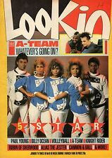Look-In Magazine 1 March 1986     Five Star     Boy George     Billy Ocean