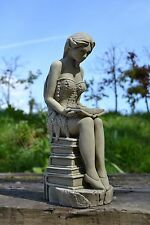 Amelia-Fairy Garden Ornament-Sculpture-Stone Statue-Decorative Gift
