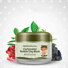Deep Pore Cleansing Clay Mask Carbonated Bubble Anti-Acne Moist Face Mask B78