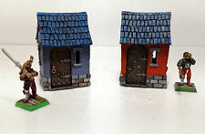 WARHAMMER AGE OF SIGMAR MORDHEIM SCENERY 2 SMALL HAUSE PRO PAINTED