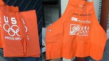 Brand New Olympic Home Depot 3 pocket Apron Adult size.