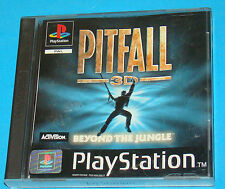 PItfall 3D - Beyond The Jungle - Sony Playstation - PS1 PSX - PAL