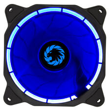 Game Max Eclipse Blue LED Ring 120mm Fan PC 12cm Case Fan High Performance