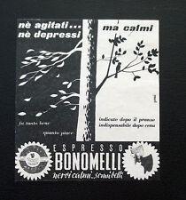 F479 - Advertising Pubblicità - 1953 - ESPRESSO BONOMELLI