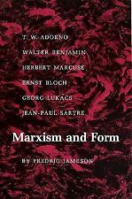 Marxism and Form : 20th-Century Dialectical Theories of Literature by Fredric...