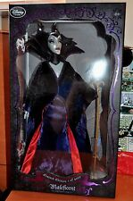 "DISNEY STORE SLEEPING BEAUTY MALEFICENT LIMITED EDITION 17"" DOLL LE 4000"