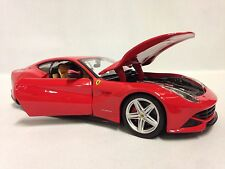 Ferrari F12 Berlinetta Race Play,Collectible, Diecast Model Car 1:24, Burago,Red