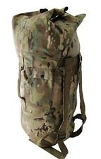 Military Army Style Nylon MultiCam Double Strap Travel Duffle Duffel Bag