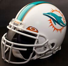 MIAMI DOLPHINS NFL Gameday REPLICA Football Helmet w/ OAKLEY Eye Shield