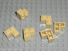 Brique d'angle TAN Brick 2 x 2 Corner 2357 LEGO / Set 7194 71006 9516 7571 4842
