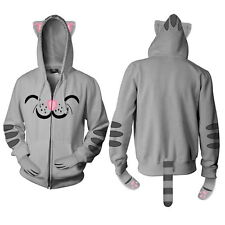 The Big Bang Theory Soft Kitty Zippered Hoodie Ears Paws Tail Size XLARGE UNWORN