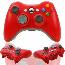 Wireless Game Remote Controller for Microsoft Xbox 360 Console+USB Receiver Red