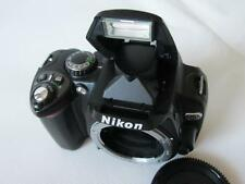 Nikon D D40x 10.2MP Digital-SLR DSLR Camera Body only - BLACK