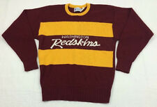 vtg CLIFF ENGLE made in USA nfl WASHINGTON REDSKINS acrylic SWEATER sz L