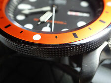FIVE.DOTS.ONE ORANGE CUSTOM INSERT F. SEIKO SKX WITH 5 LUMINOUS DOTS Z-02-C
