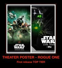 Rogue One MOVIE POSTER top tier Jyn Premiere Topps Star Wars Digital Card Trader