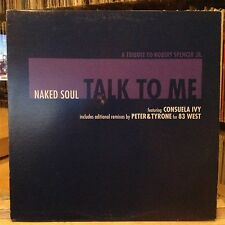 "[EDM]~EXC 12""~NAKED SOUL~CONSUELA IVY~83 WEST~Talk To Me~[x4 Mixes/Remixes]~2002"