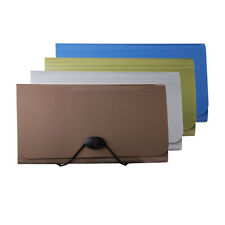 13 Pocket Accordion Office Expanding File Folder Business Organizer Binding #Y5