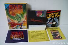 NINTENDO NES / Dragon Warrior / REV- A [ NES-DQ-USA ]