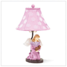 Children's Kid's Bedroom and Multi-Color Angel Table Lamp