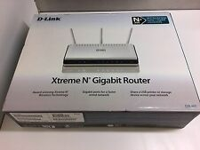 D-Link Xtreme N+ 300 Mbps 4-Port Gigabit Wireless N Routers DIR-655 NIB