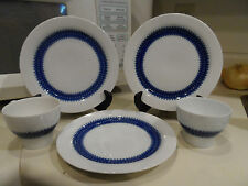 Discontinued 5pc Thomas China White w/Blue Design - Germany
