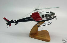AS-350 Helitrans Eurocopter Helicopter Wood Model Small