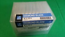 Disco NBC-ZH 2030-SE Diamond Blades, Factory sealed lot of 10 in original box.