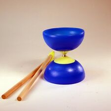 Neoflight 2 Beginner Diabolo Set - Sticks, Strings and Instructions - Blue