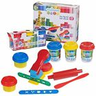 10 PIECES CHILDRENS KIDS PLAY DOUGH DOH SET CRAFT MODELLING KIT TOY WITH TOOLS