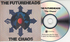 THE FUTUREHEADS The Chaos 2010 UK 11-track promo test CD + press release