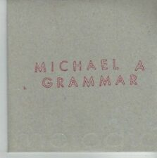 (CU765) Michael A Grammar, All Night Afloat - DJ CD