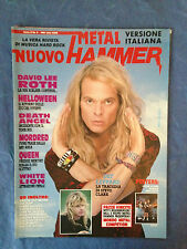 NUOVO METAL HAMMER 3 1991 DAVID LEE ROTH QUEEN JUDAS PREIST STEVE CLARK MORDRED
