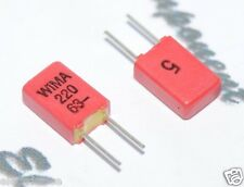 10pcs - WIMA FKP02 220P (220PF 0.22nF) 63V 5% pich:2.5mm Capacitor