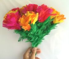 BARGAIN SLEEVE FEATHER FLOWER BOUQUET Magic Trick 10 Bud Production Magician