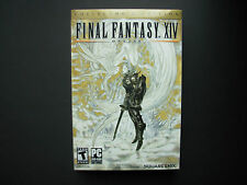 PC Game Final Fantasy XIV 14 Online Collector's Edition Complete in Box Great