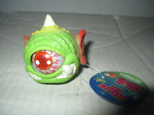 Green Eye Monster Ball w/ Horn Figure Cyclops Toy Toysmith Eye Pops In and Out