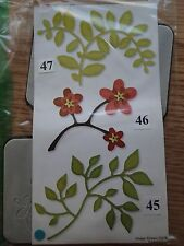Sizzix Sizzlits Die Flowers, Branches & Leaves Set, Set of 3, 656064