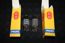 2x Very Strong and Matched ECC83 12AX7 Philips Premium Vintage Tubes