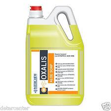 4 x lt.5 Oxalis Aloe sapone lavamani neutro con aloe vera e glicerina