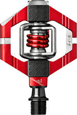Crank Brothers Candy 7 MTB Mountain Bike Pedals with Cleats - Red