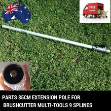4PC Extension Pole Chainsaw Whipper Snipper Hedge Trimmer Brush Cutter Saw 9T