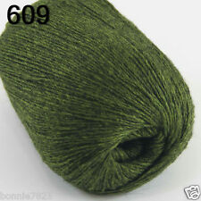 NEW Luxurious Soft 50g Mongolian Pure 100% Cashmere Hand Knitting Wool Yarn 609