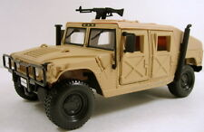 "Maisto Humvee Military Vehicle 1:27 scale 8"" diecast model car sand M209"