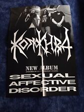 KONKHRA - Sexual Affective Disorder POSTER (60cm x 42cm)
