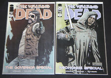 IMAGE THE WALKING DEAD GOVERNOR / MICHONNE SPECIAL #1 COMIC LOT 2pc (9.2 OB)